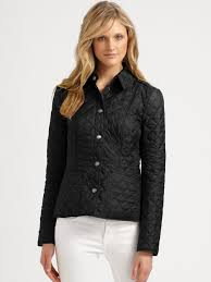 Burberry Kencott Quilted Jacket in Black | Lyst & Gallery Adamdwight.com