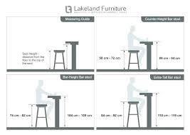 Bar Stool Size Chart Medium Height Bar Stools Icagile Info