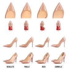 Christian Louboutin Heel Height Chart Pin On Shoes