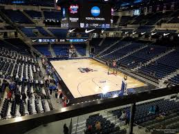 Wintrust Arena Seating Chart Concert Wintrust Arena Section 204 Depaul Basketball