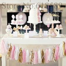 2019 14 inch 35cm tissue paper tassel garland diy wedding decorations happy birthday decoration event pack decoration 1pack from huojuhua 23 24 dhgate