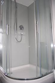 dove grey glass shower walls 1