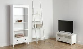Asda Floating Shelves Mesmerizing George Home Tamsin Bookcase White Home Garden George At ASDA