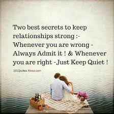 Strong Relationship Quotes Two Best Secrets To Keep Relationships Strong Relationships Quote 24