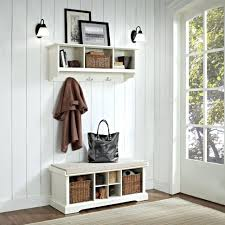 furniture for entrance hall. Bench Narrow Entryway Storage With Shelf White Table For Decoration Hallway And Upholstered Furniture Entrance Hall