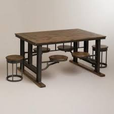 industrial dining furniture. galvin industrial stool and table i want this for my dining furniture e