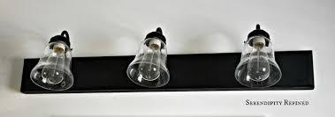 brass bathroom lighting fixtures. how to update oak and brass bathroom fixtures with spray paint chalk lighting