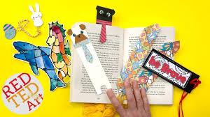 Cool Bookmark Designs To Make 5 Creative Bookmark Ideas Best Of Bookmark Diys Diy School Supplies