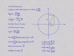 Trig Angles Chart Trigonometry A Collection Of 158 Trigonometry Calculators