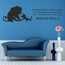 lion king wall art lion king wall art sticker kids nursery bedroom decal e vinyl decor lion king wall