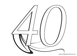 Numeri Da Stampare 40 Disegni Da Colorare Con Numero 4 Da Stampare E