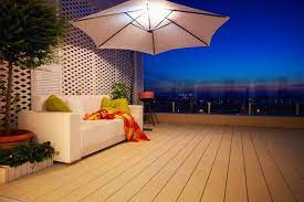 best patio umbrella lights for style