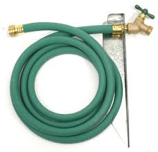 garden hose faucet. The Heavy Duty 13\u201d Long Steel Mounting Stake Will Hold Solid Brass Extension Faucet Solidly. Plenty Of Clearance For Watering Cans And Buckets. Garden Hose P