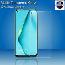 <b>Matte</b> Tempered Glass for Huawei Nova 7i Anti Glare <b>9H Frosted</b> ...