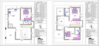 g9 vasathi north facing 30 x 40 house floor plan page 001