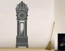 wall clock art decal