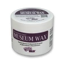 display case accessories museum wax 2 oz tub