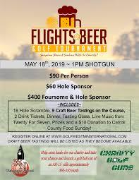 Flights Of Beer Golf Tournament Westminster National Golf