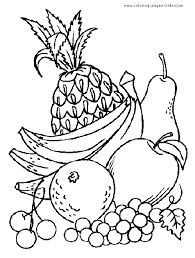 fruit plate coloring page with coloring pages of fruit fruits pages color fruit plate coloring page with coloring pages of fruits in a on coloring pages of fruits in a basket