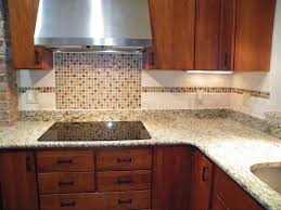 image of mosaic tile kitchen backsplash border