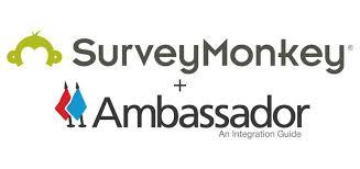 Survey Monkey Logo Integrate Ambassador With Surveymonkey Net Promoter Score