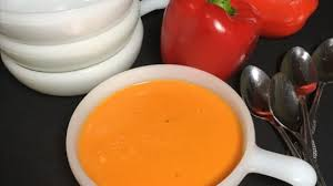 Image result for red pepper soup