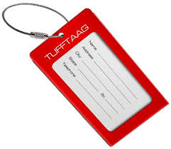 Buy Luggage Tags Business Card Holder Tufftaag By Proudguy