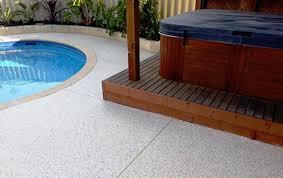 outdoor area concrete resurfacing service
