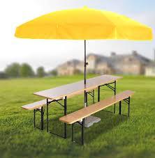 beer garden furniture.  Furniture Beer Garden Set U0026 Round Umbrella With Furniture R
