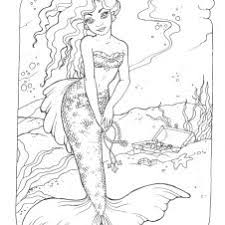 Small Picture princess mermaid color sheets Sara coloring page My Style