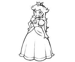 Small Picture Trend Princess Peach Coloring Pages 25 For Your Free Coloring Book