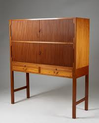 Cabinet Of Denmark Cabinet Designed By Ole Wanscher For A J Iversen Modernity