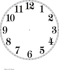 Clock Templates Printable Clock Templates Here are a few examples DIY clocks 2