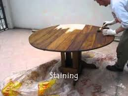 save diy furniture building rustic dining table and chairs