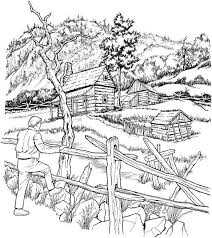 Small Picture Detailed landscape coloring pages for adults ColoringStar