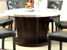 marble top round dining table white with lazy back to set ideas manufacturers