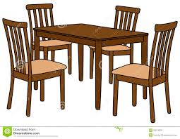 Cool Round Kitchen Table Clip Art Dining Clipartdining Room And - School dining room tables
