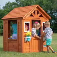 backyard discovery timberlake playhouse 2 10 years