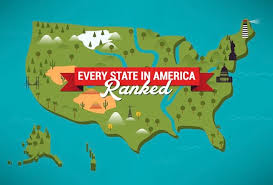 Ranking All 50 USA States From Best to Worst - Best State In ...