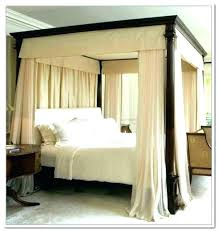 King Size Canopy Bed Designs Curtains For With Best Of Frame Plans ...