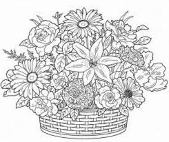 Small Picture Adult Coloring Pages Flowers Design Inspiration Printable Coloring