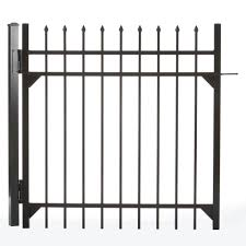 DIY Universal Fence Metal Fence Gates Metal Fencing The Home Depot