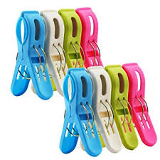 hanging beach towel. 8 Pack IPOW Beach Towel Clips,Plastic Quilt Hanging Clips Clamp Holder For Chair