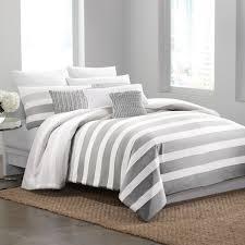 dkny highline grey duvet cover bed bath beyond