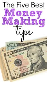 The 5 Best Money Making Tips Believe In A Budget