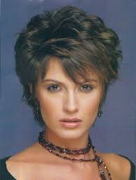Women Hairstyle Short Hairstyles For Thick Hair Over 60 Short