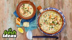 Easy Seafood Chowder Recipe ...