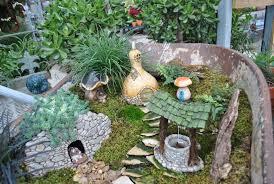 Stunning Home Garden Exterior Design Integrating Pretty Real Fairy ...