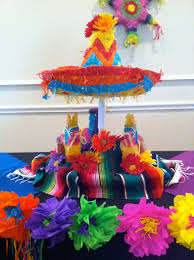 Mexican Themed Kitchen Decor Fiesta Centerpiece Ideas The Posh Pixie Mexican Party Table