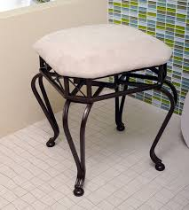 vanity stools and chairs. Upholstered Vanity Stools And Benches | Stool Chair For Bathroom Chairs O